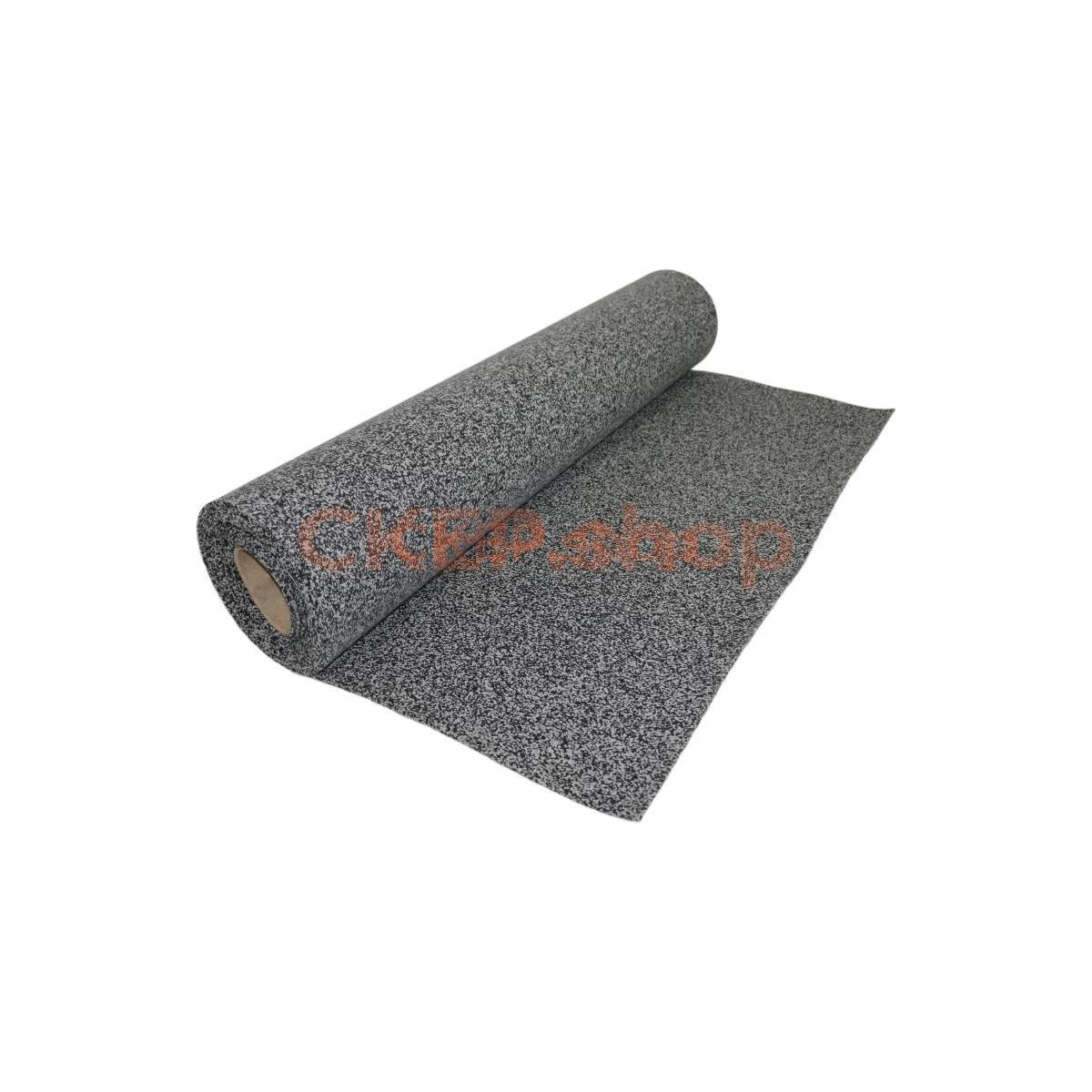 Резиновое покрытие в рулоне серое для крыльца