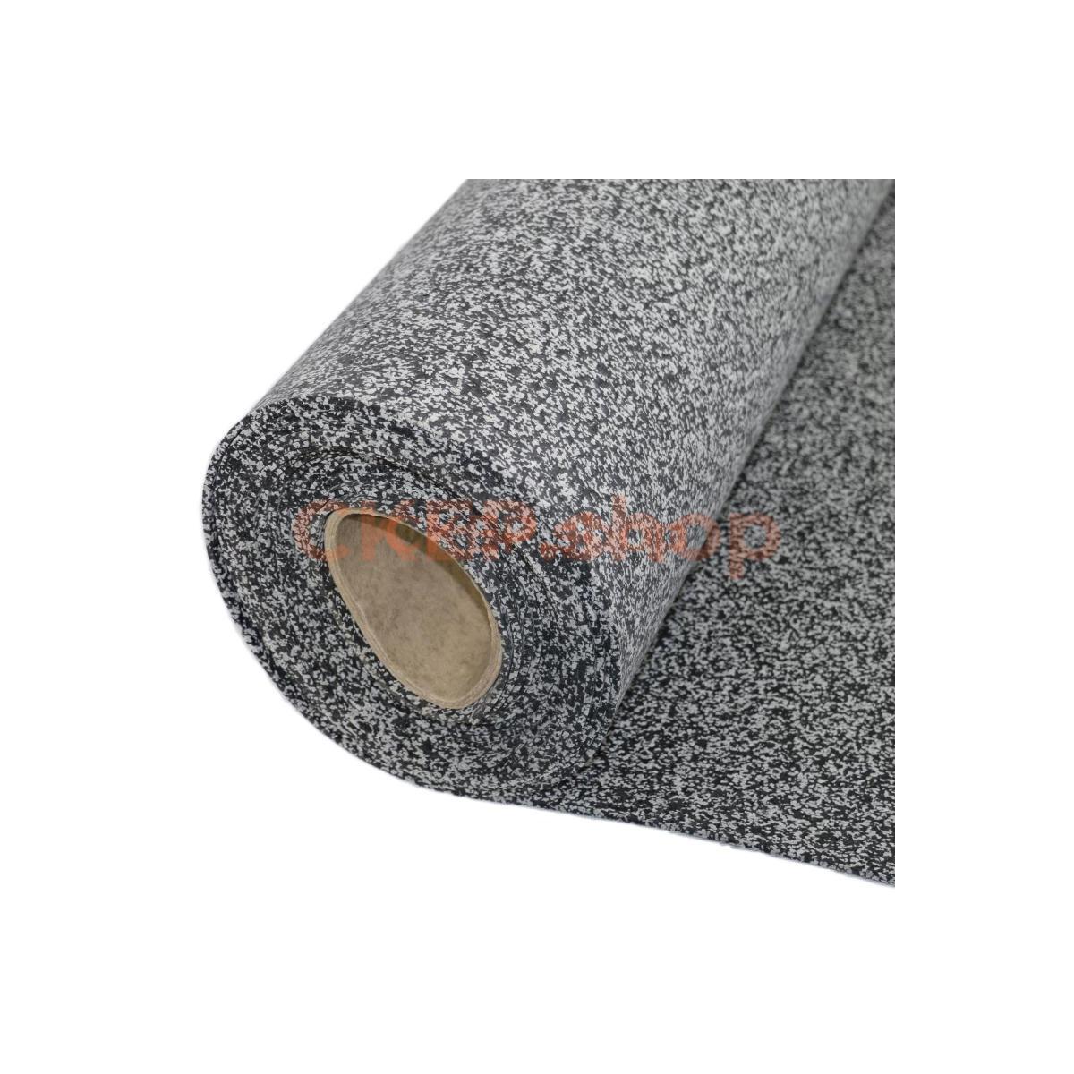 Покрытие резиновое рулонное EPDM 50%, 4 мм, серый