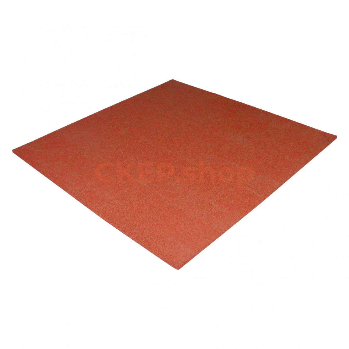 Резиновая плитка 1000х1000х20 мм, терракотовая