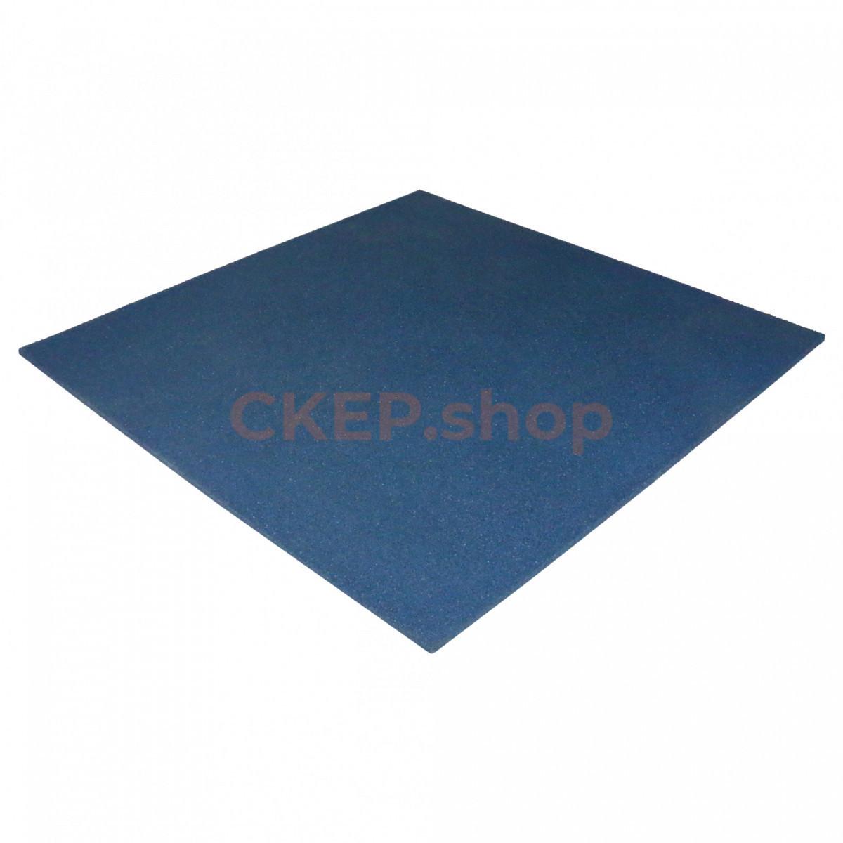 Резиновая плитка 1000х1000х10 мм, синяя