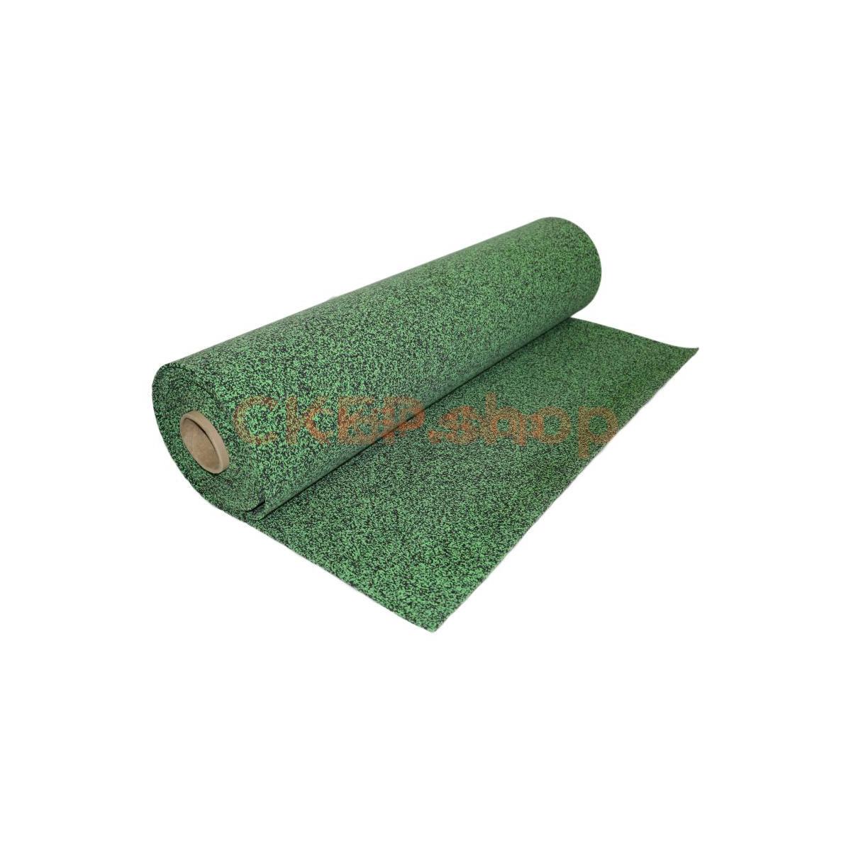 Покрытие из резиновой крошки рулонное EPDM 50%, 6 мм, зеленый