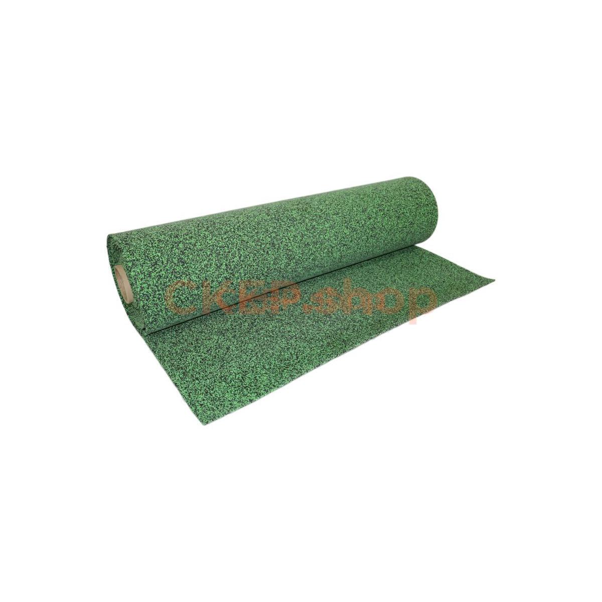 Покрытие резиновое рулонное EPDM 50%, 6 мм, зеленый