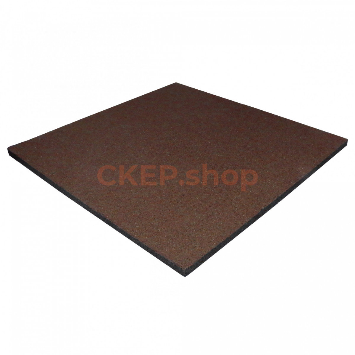 Резиновая плитка 1000х1000х40, коричневая