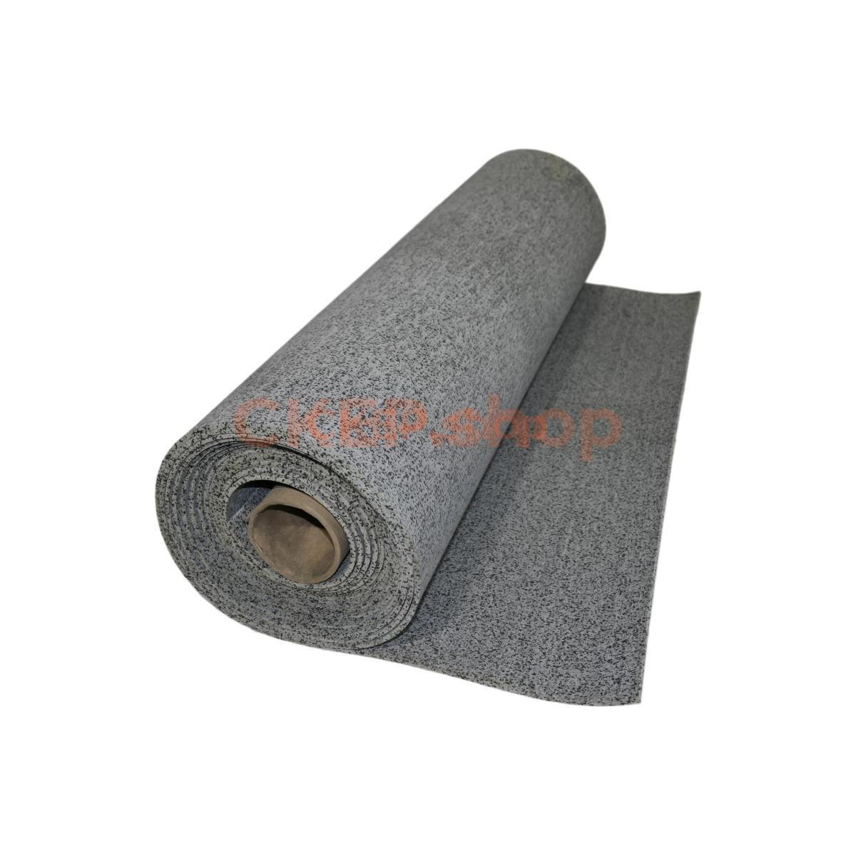Рулонное резиновое покрытие EPDM 100%, 6 мм, серое 85% + черное 15%
