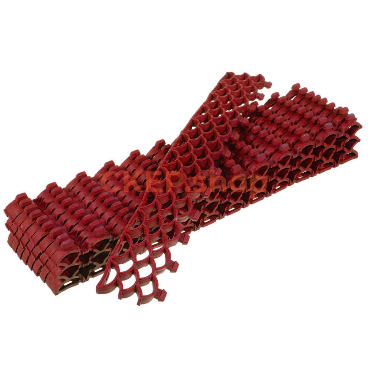 Покрытие грязезащитное Орикс-10, 10 мм, красное