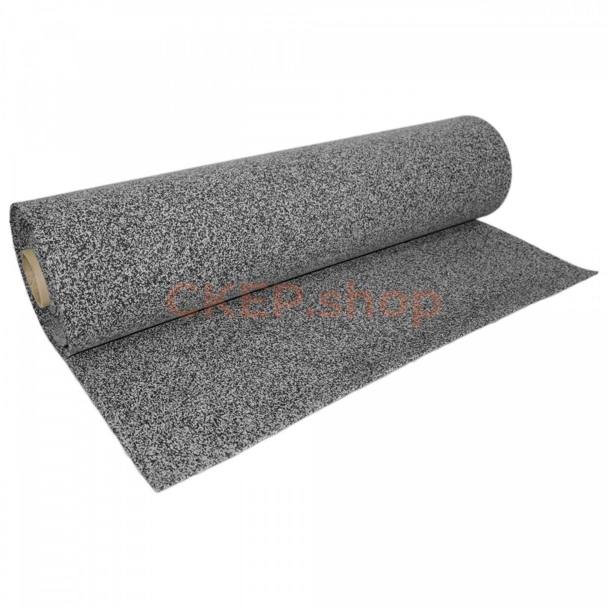 Рулонное резиновое покрытие EPDM 50%, 12 мм, серое