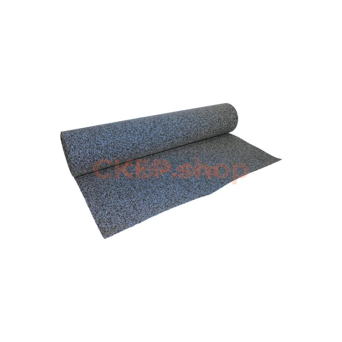 Покрытие из резиновой крошки рулонное EPDM 50%, 4 мм, синий