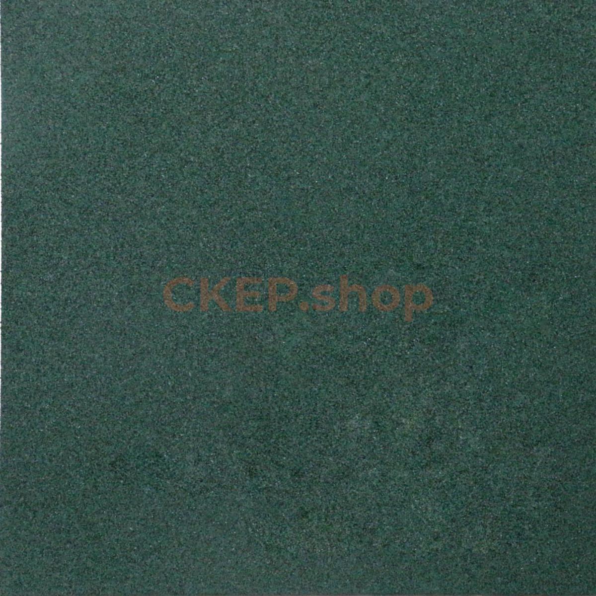 Резиновый мат 1000х1000х20 мм, зелёный