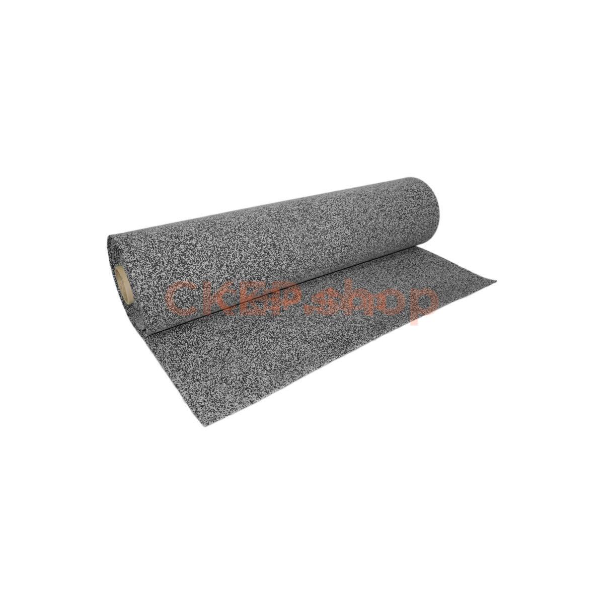 Покрытие резиновое рулонное EPDM 50%, 6 мм, серый