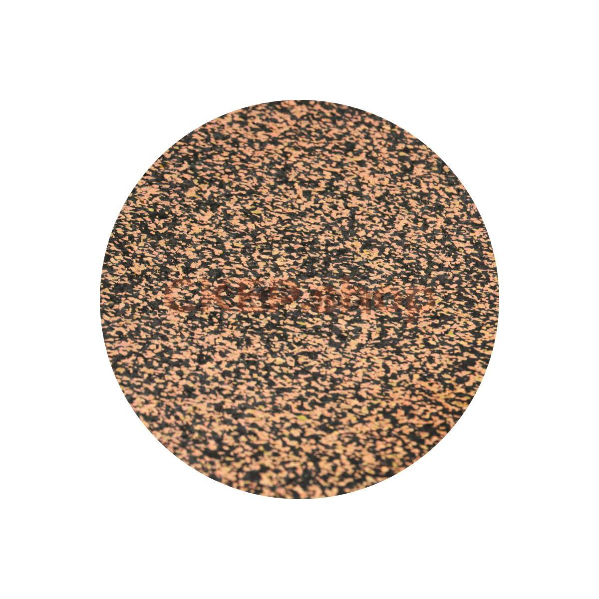 Покрытие резиновое рулонное EPDM 50% оранжевый текстура